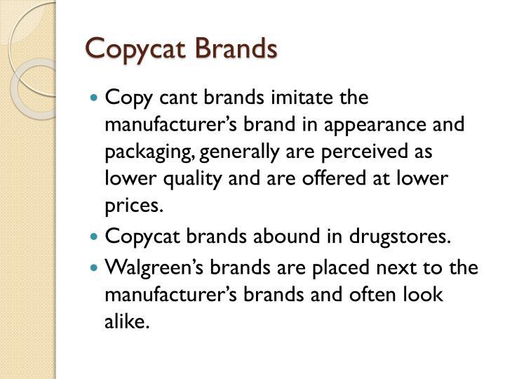 Copycat Brands