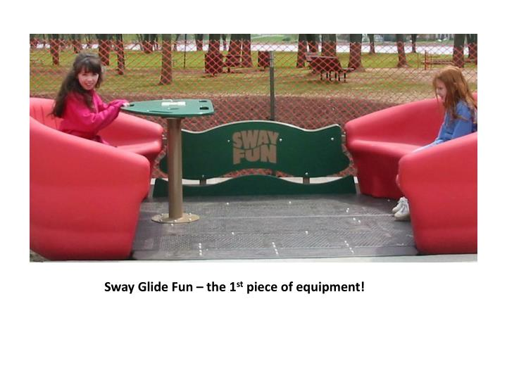 Sway Glide Fun – the 1
