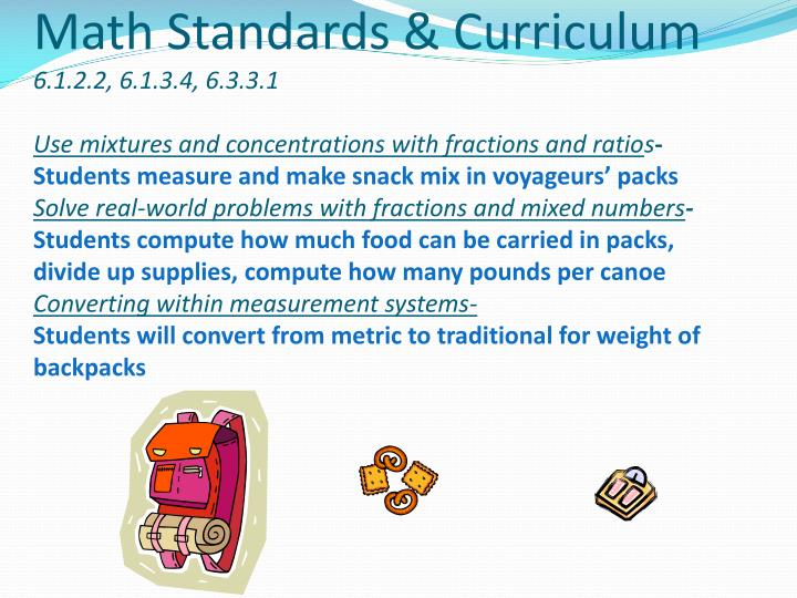 Math Standards & Curriculum
