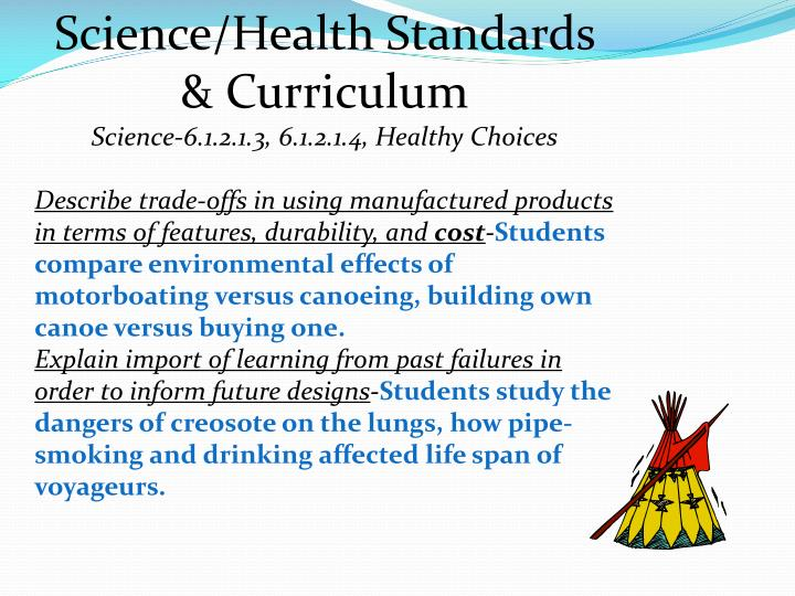 Science/Health Standards & Curriculum