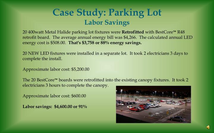 Case Study: Parking Lot