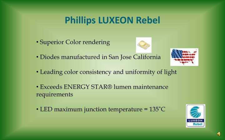 Phillips LUXEON Rebel