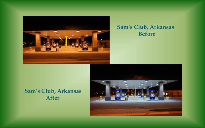 Sam's Club, Arkansas