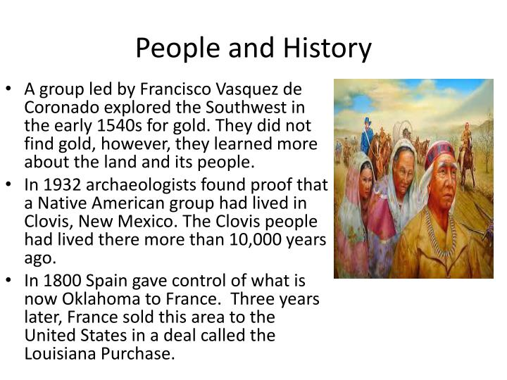 People and History