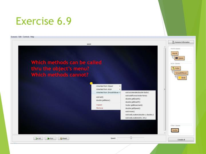 Exercise 6.9