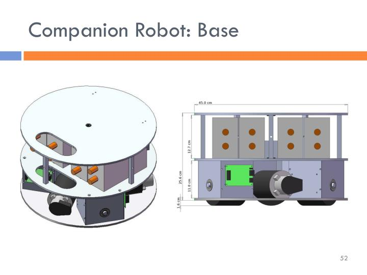Companion Robot: Base