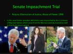senate impeachment trial