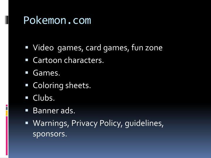 Pokemon.com