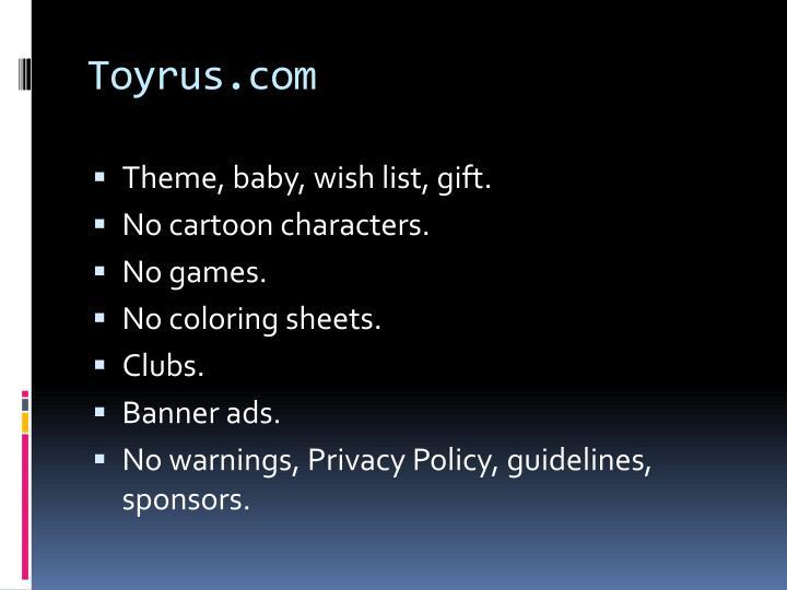 Toyrus.com