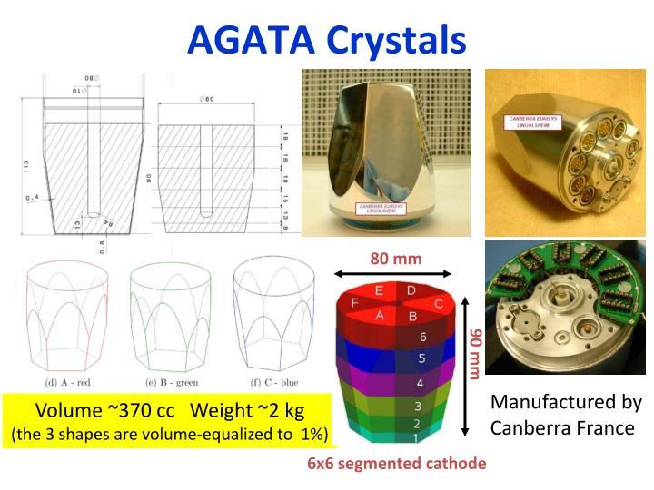 AGATA Crystals