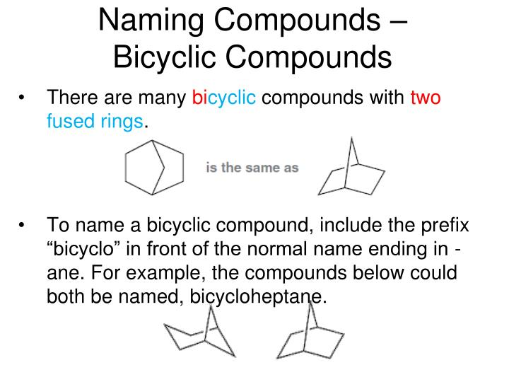Naming Compounds –