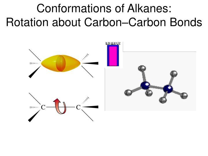 Conformations of Alkanes: