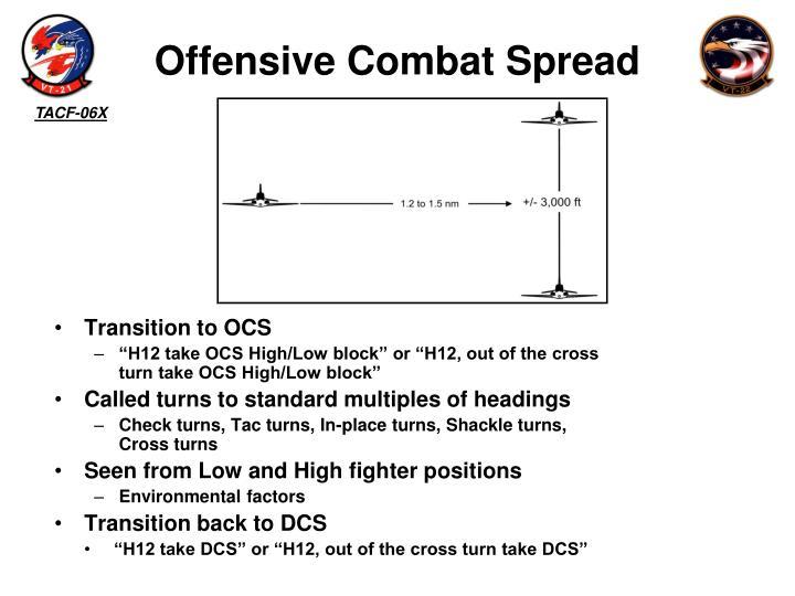 Offensive Combat Spread