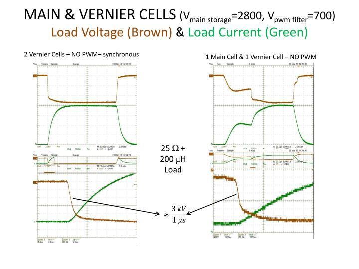 MAIN & VERNIER CELLS