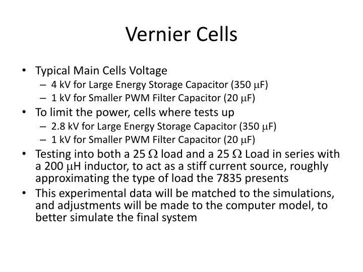Vernier Cells