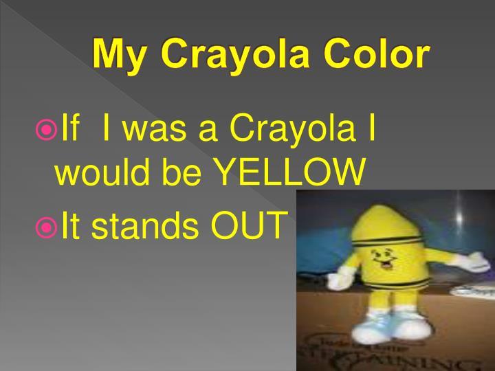 My Crayola Color