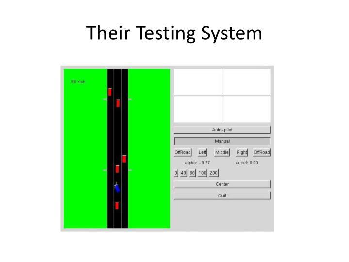 Their Testing System