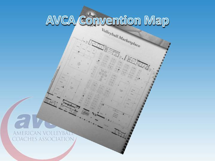 AVCA Convention Map