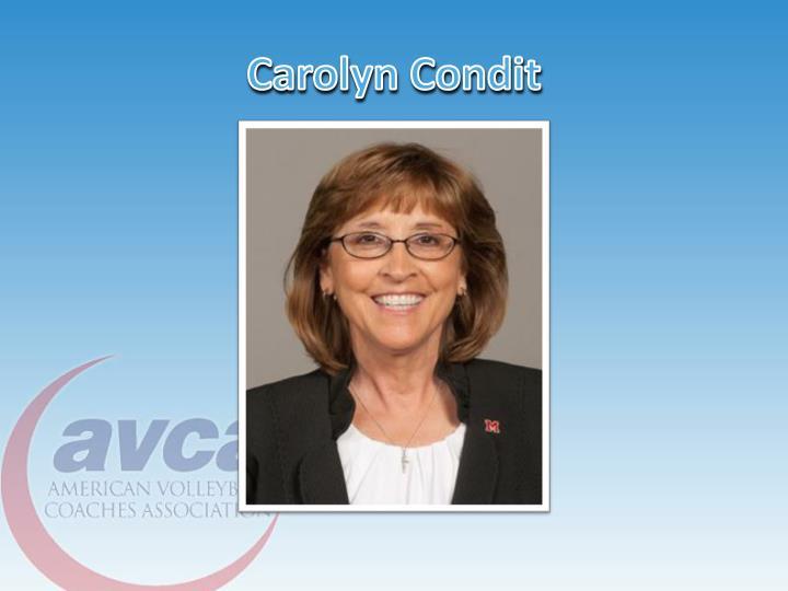 Carolyn Condit