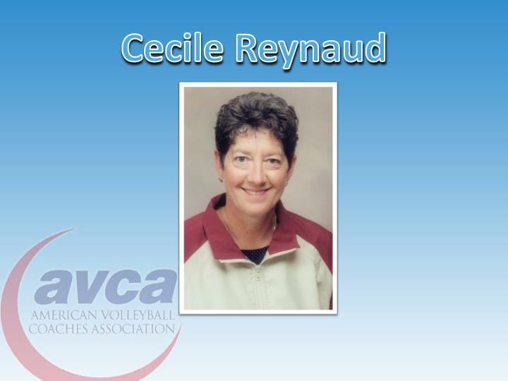 Cecile Reynaud