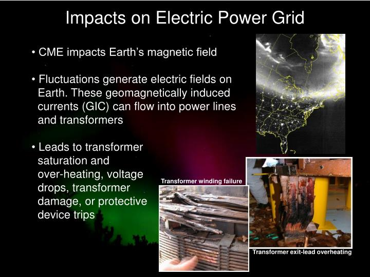 Impacts on Electric Power Grid