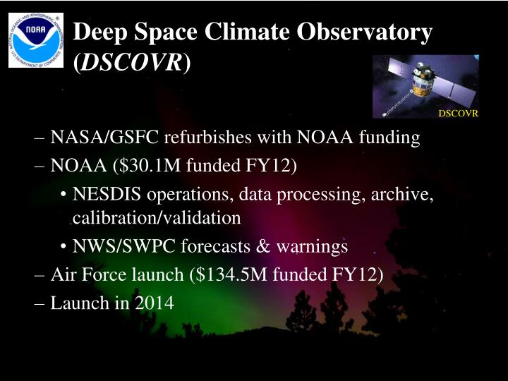 Deep Space Climate Observatory (