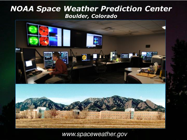 NOAA Space Weather Prediction Center