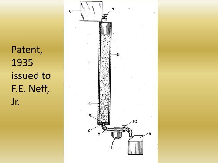 Patent, 1935