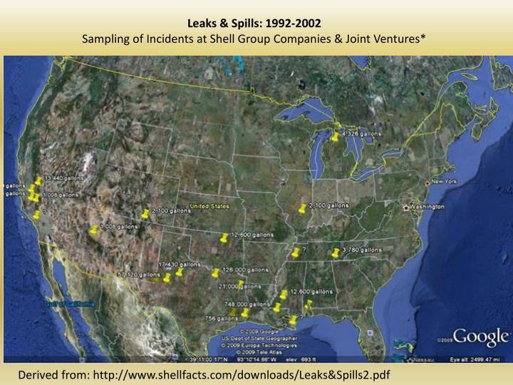 Leaks & Spills: 1992-2002