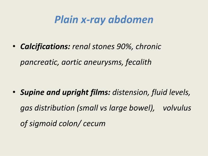 Plain x-ray