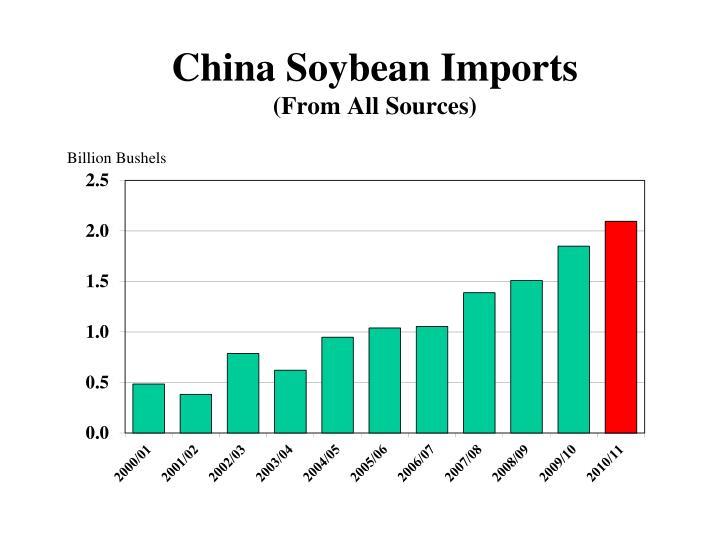 China Soybean Imports