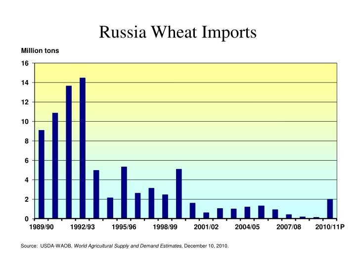 Russia Wheat Imports