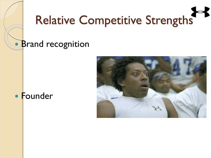 Relative Competitive Strengths