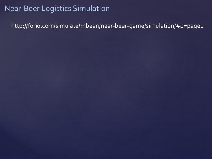 Near-Beer Logistics Simulation