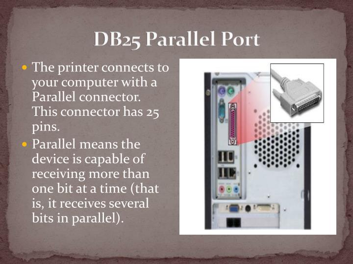 DB25 Parallel Port