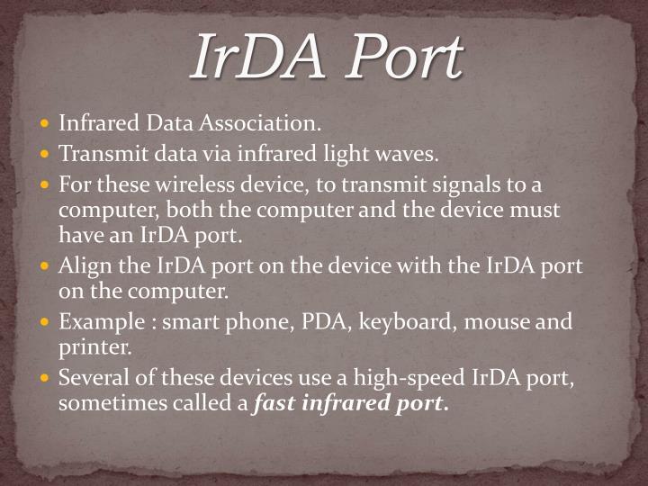 IrDA Port