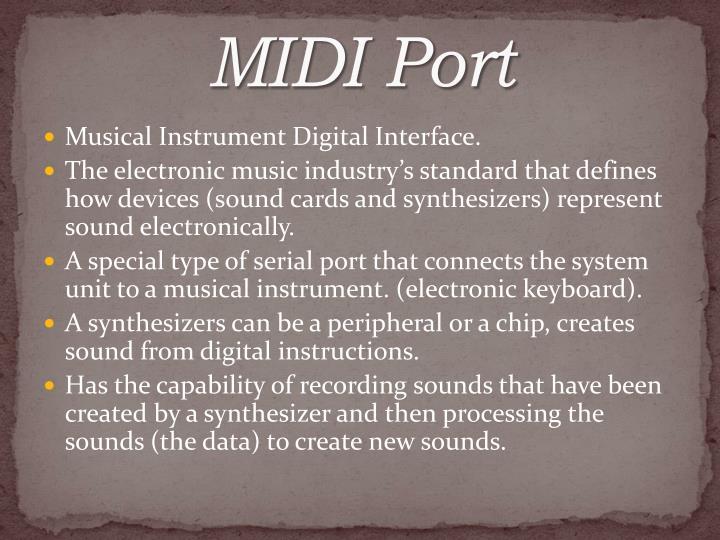 MIDI Port