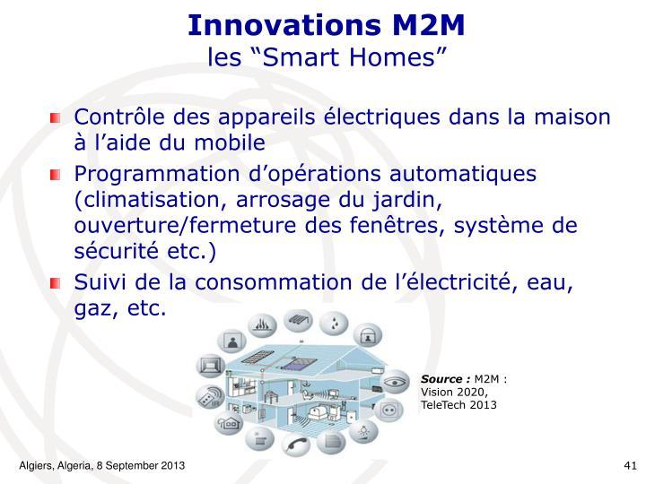 Innovations M2M