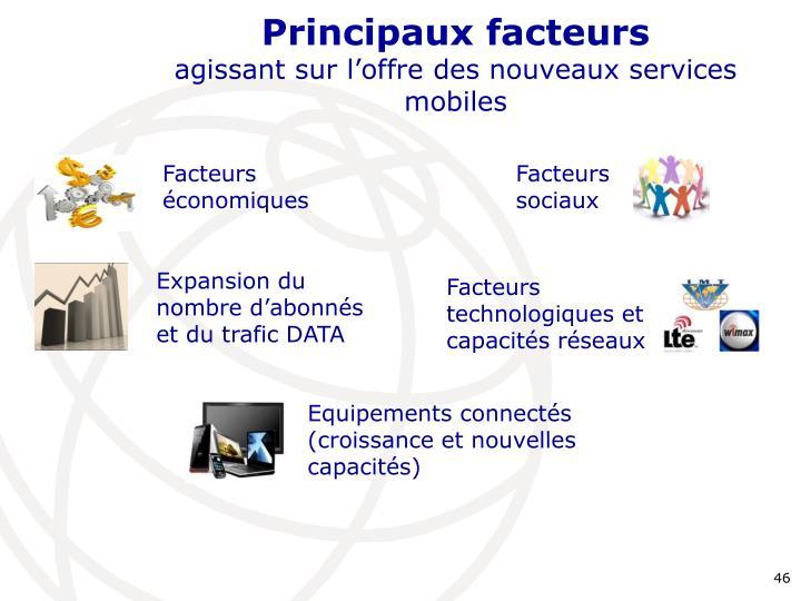Principaux facteurs