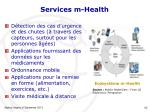 services m health