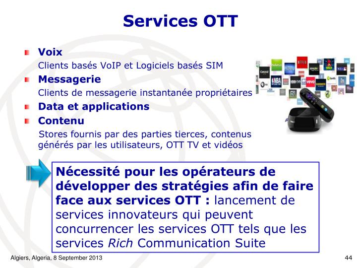 Services OTT