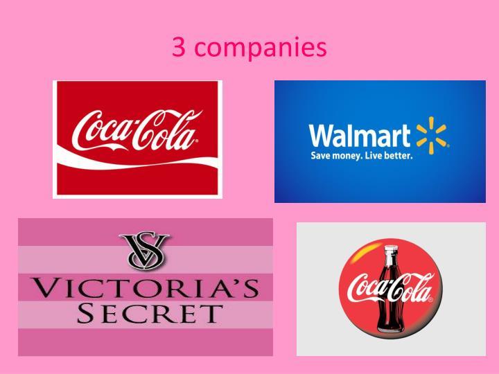 3 companies