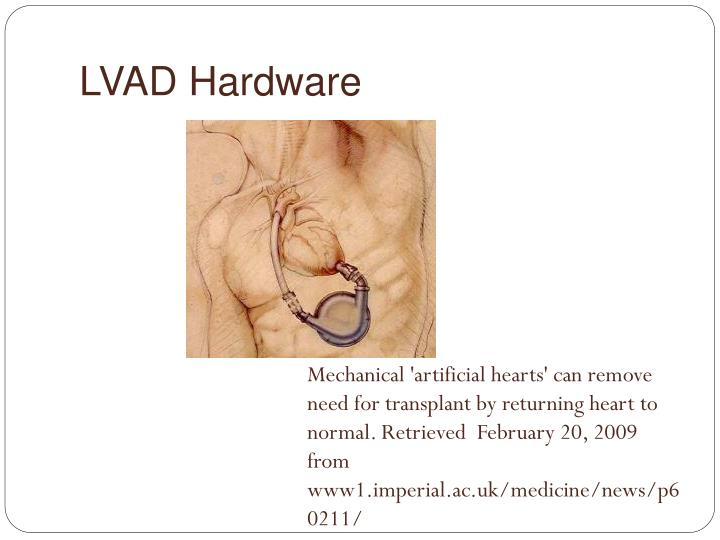 LVAD Hardware