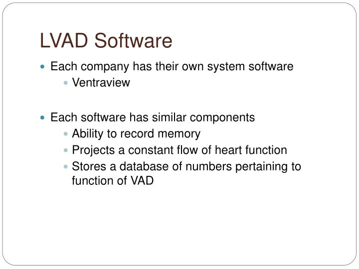 LVAD Software