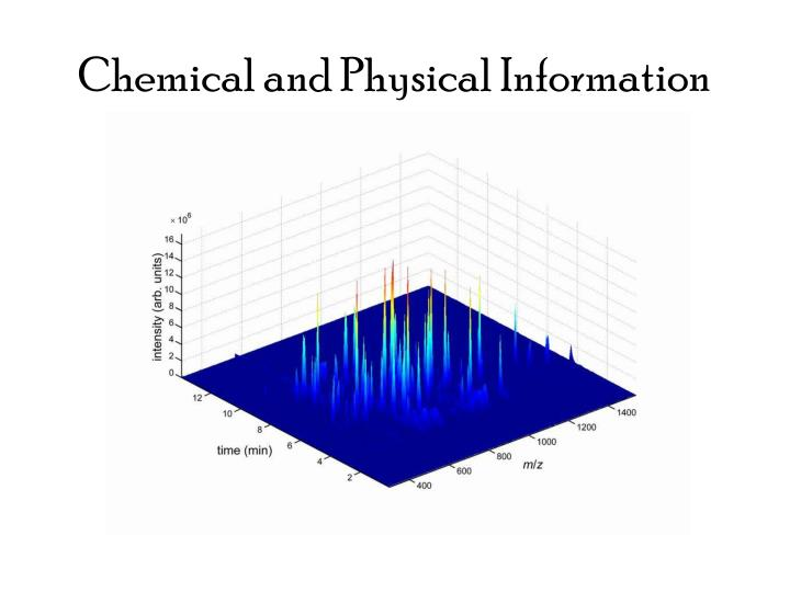 Chemical and Physical Information