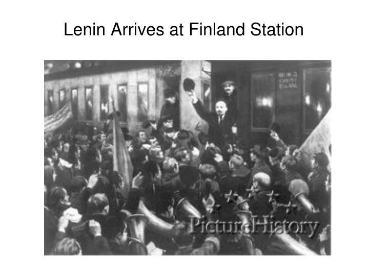 Lenin Arrives at Finland Station