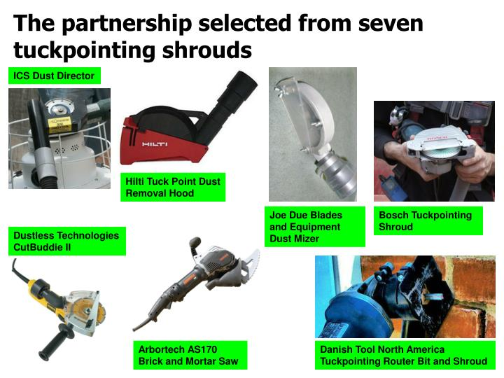 The partnership selected from seven