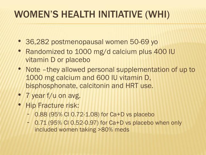 Women's health Initiative (