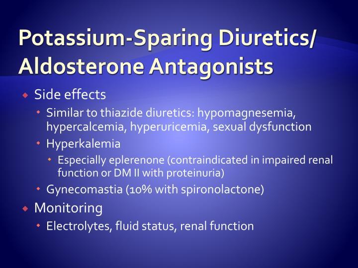 Potassium-Sparing Diuretics/