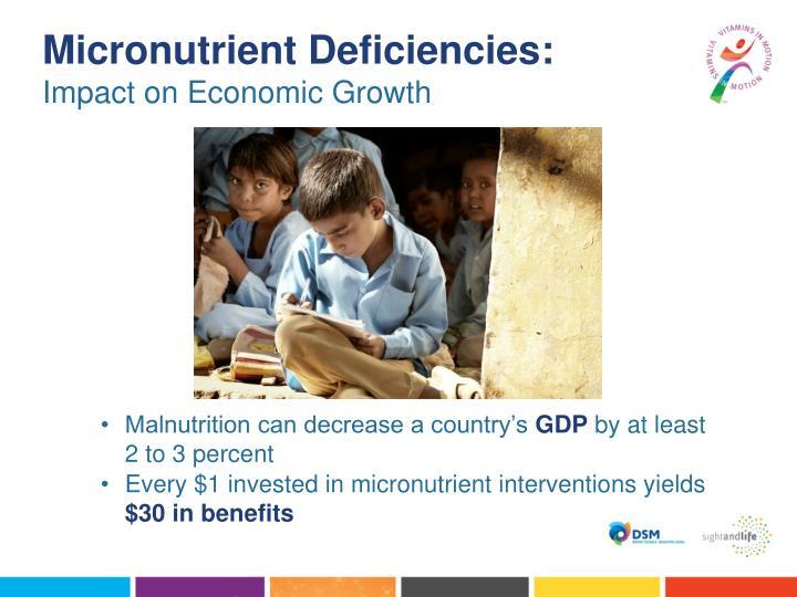 Micronutrient Deficiencies: